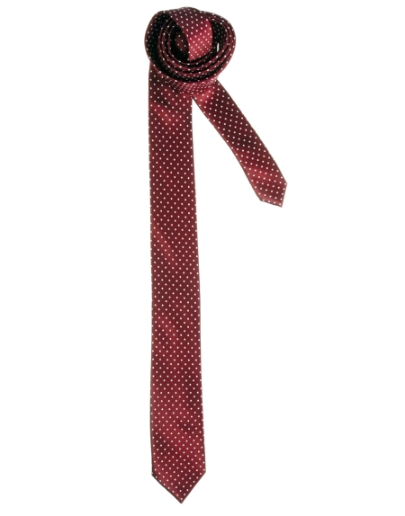 River Island Red Polka Dot Tie StyleChi