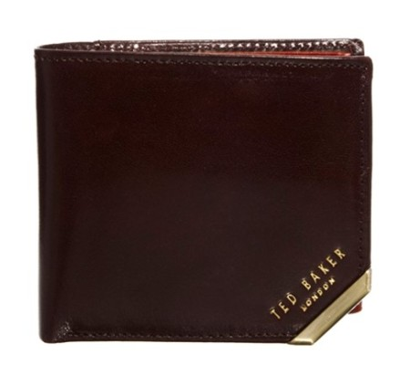 Ted Baker Metal Corner Coin Wallet Style Chi