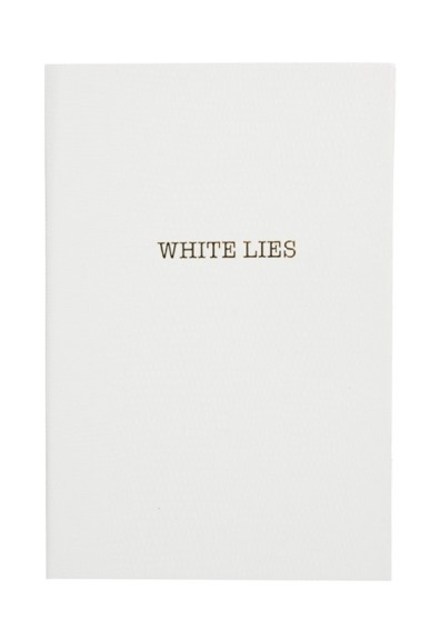 Sloane Stationery White Lies Notebook Style Chi