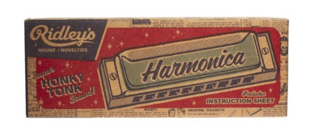 Ridley's House Of Novelty Harmonica Style Chi