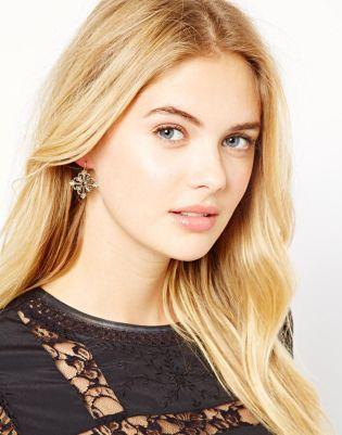 Orelia Filligree Earrings Style Chi