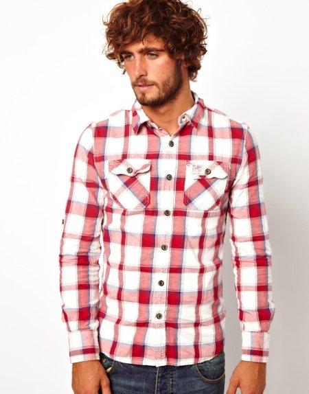 Superdry Lumberjack Shirt  Style Chi