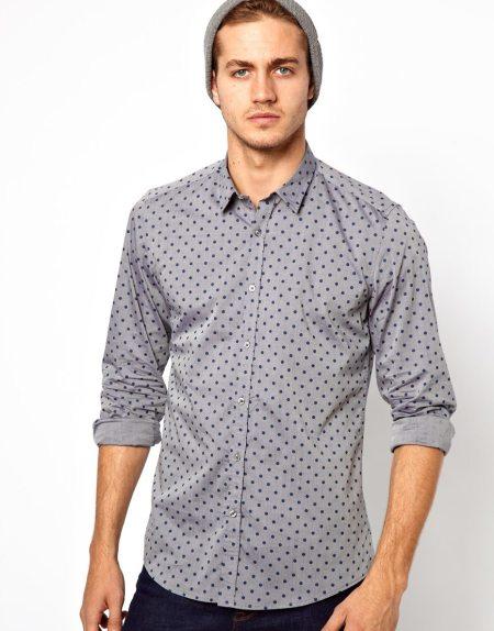 Antony Morato Polka Dot Shirt Style Chi
