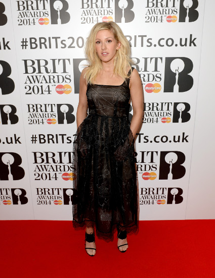 Brit Awards 2014 Best Looks StyleChi Black Dress