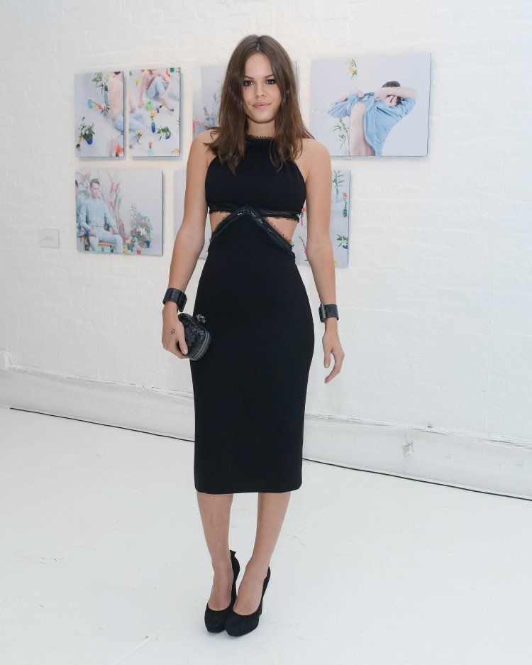 Atlanta-De-Cadenet-Taylor-Best-Looks-StyleChi-Black-Cut-Out-Midi-Dress