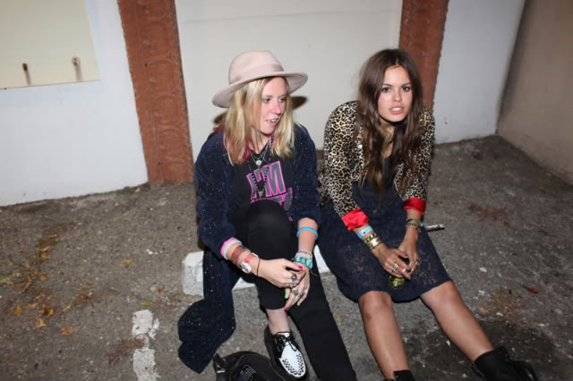 Atlanta-De-Cadenet-Taylor-Best-Looks-StyleChi-Leopard-Print-Blazer-Navy-Lace-Dress-Black-Biker-Boots-Party