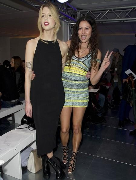 Peaches-Geldof-StyleChi-Best-Looks-Sleeveless-Black-Midi-Dress-High-Neck-Platform-Chelsea-Ankle-Boots