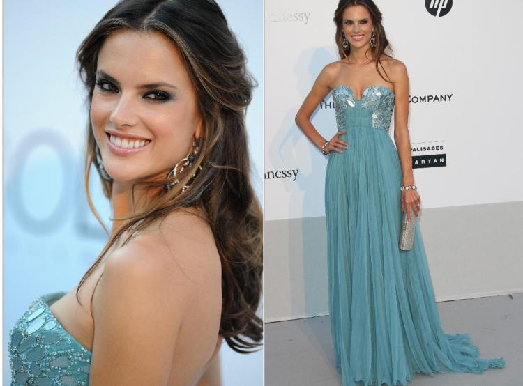 Alessandra-Ambrosio-Best-Outfits-Style-StyleChi-Cavalli-Red-Carpet-Light-Blue-Gown