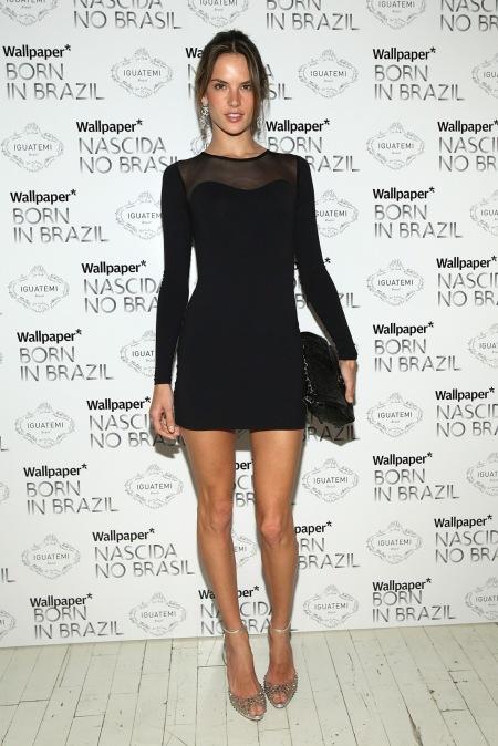 Alessandra-Ambrosio-Best-Outfits-Style-StyleChi-LBD-Mesh-Insert-Diamon-Peep-Toe-Heels-Clutch