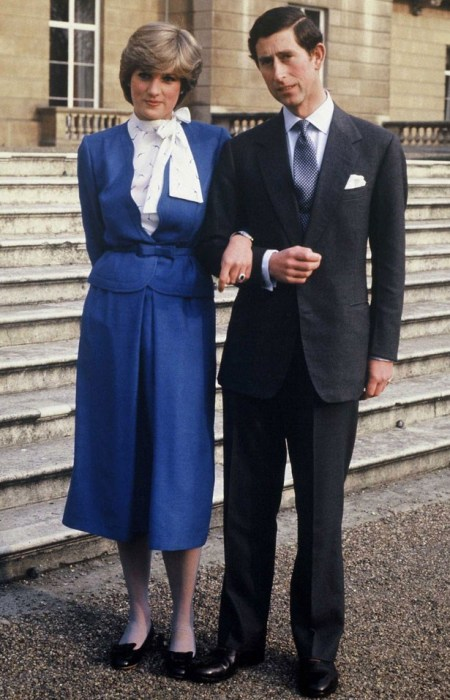 Princess-Diana-StyleChi-Style-Best-Looks-Blue-Midi-Skirt-Belted-Jacket-White-High-Neck-Blouse-Prince-Charles